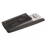 Reposamuñecas 3m para teclado mas superficie para raton pielnegra linea prevención total wr422le