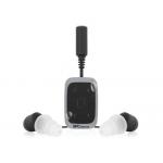 Reproductor mp3 Telecom acuático 4 gb con clip sumergible hasta 3 m color plata