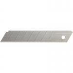 Repuesto cuter ancho metálico Q-Connect 0,5x18 mm estuche de 12 cuchillas
