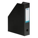Elba- Revistero de PVC, ultra resistente, color negro