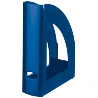 Q-Connect KF04205 - Revistero de plástico, color azul opaco