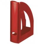 Revistero Liderpapel plástico color rojo opaco