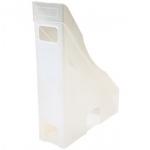Revistero Offisys plástico flexible transparente