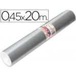 Aironfix 69193 - Rollo adhesivo, 0,45 x 20 metros, color plata