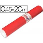 Aironfix 67151 - Rollo adhesivo, 0,45 x 20 metros, color rojo claro mate