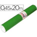 Rollo adhesivo Aironfix unicolor color verde brillo rollo de 20 mt