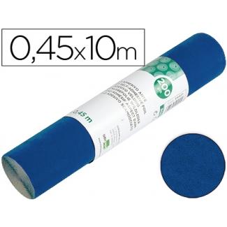 Liderpapel RO01 - Rollo adhesivo, efecto ante, 0,45 x 10 metros, color azul