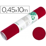 Rollo adhesivo Liderpapel especial ante color granate rollo de x 10 mt
