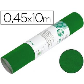 Liderpapel RO03 - Rollo adhesivo, efecto ante, 0,45 x 10 metros, color verde