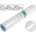 Liderpapel RO11 - Rollo adhesivo, 0,45 x 20 metros, transparente