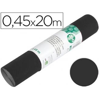 Liderpapel RO10 - Rollo adhesivo, 0,45 x 20 metros, color negro mate