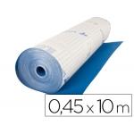 Aironfix 06704 - Rollo adhesivo, efecto ante, 0,45 x 10 metros, color azul