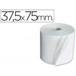 Rollo sumadora electro 37.5 mm ancho x 75 mm diámetro