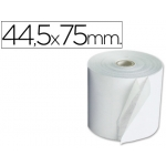 Rollo sumadora electro 44.5 mm ancho x 75 mm diámetro