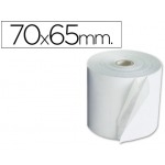 Rollo sumadora electro 70 mm ancho x 65 mm diámetro