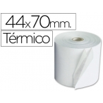 Rollo sumadora termico Q-connect 44 mm ancho x 70 mm diámetro