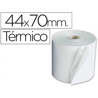 Q-Connect KF00856 - Rollo de sumadora, papel térmico, 44 mm de ancho x 70 mm de diámetro