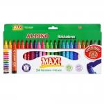 Rotulador Alpino maxi caja de 24 colores