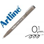 Rotulador Artline calibrado micrométrico color negro 0.1 mm resistente al agua