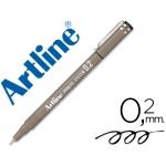 Rotulador Artline calibrado micrométrico color negro 0.2 mm resistente al agua