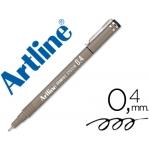 Rotulador Artline calibrado micrométrico color negro 0.4 mm resistente al agua