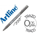 Rotulador Artline calibrado micrométrico color negro mm resistente al agua