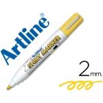 Rotulador Artline camiseta color amarillo punta redonda 2 mm para uso en camisetas