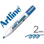 Rotulador Artline camiseta color azul punta redonda 2 mm para uso en camisetas
