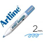 Rotulador Artline camiseta color celeste punta redonda 2 mm para uso en camisetas