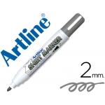 Rotulador Artline camiseta color gris punta redonda 2 mm para uso en camisetas
