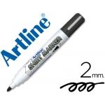 Rotulador Artline camiseta color negro punta redonda 2 mm para uso en camisetas