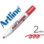 Rotulador Artline camiseta color rojo punta redonda 2 mm para uso en camisetas