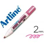 Rotulador Artline camiseta color rosa fluorescente punta redonda 2 mm para uso en camisetas