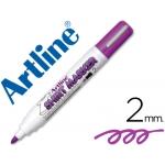 Rotulador Artline camiseta color violeta punta redonda 2 mm para uso en camisetas