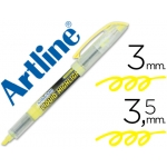 Artline 640 - Rotulador fluorescente, punta biselada, color amarillo