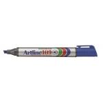 Rotulador Artline marcador permanente 109 color azul punta biselada
