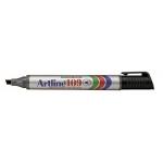 Rotulador Artline marcador permanente 109 color negro punta biselada