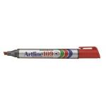 Rotulador Artline marcador permanente 109 color rojo punta biselada