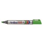 Rotulador Artline marcador permanente 109 color verde punta biselada