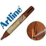 Rotulador Artline marcador permanente furniture maple-arce punta biselada 2,0-5,0 mm en blister brico