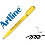 Rotulador Artline multipen color negro punta redonda 1 mm tinta a base de agua