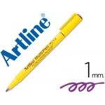 Rotulador Artline multipen color violeta punta redonda 1 mm tinta a base de agua
