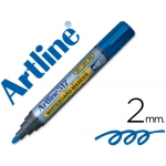 Artline EK-517 - Rotulador para pizarra blanca, punta redonda de 2 mm, color azul