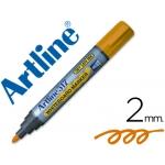Rotulador Artline pizarra color naranja punta redonda 2 mm tinta de bajo olor