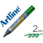 Artline EK-517 - Rotulador para pizarra blanca, punta redonda de 2 mm, color verde
