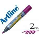 Rotulador Artline pizarra color violeta punta redonda 2 mm tinta de bajo olor