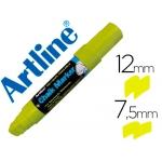 Rotulador Artline pizarra verde negra mm color amarillo