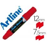 Rotulador Artline pizarra verde negra mm color rojo