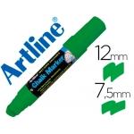 Rotulador Artline pizarra verde negra mm color verde