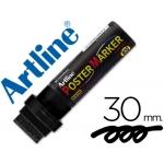 Rotulador Artline postermarker color negro punta de fieltro 30 mm para carteleria